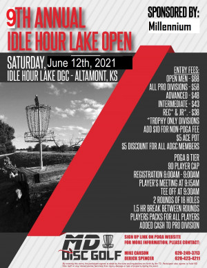 Idle Hour Open 2021 graphic