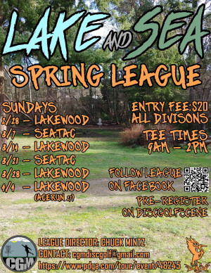 LAKE and SEA Spring League - WEEK 3 graphic