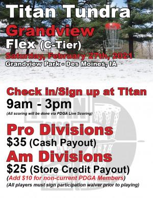Titan Tundra Grandview Flex graphic