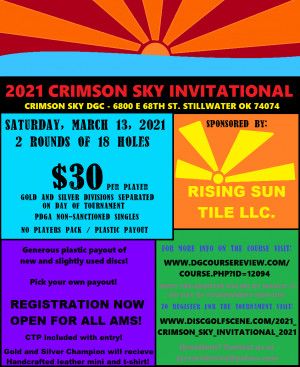 2021 Crimson Sky Invitational graphic