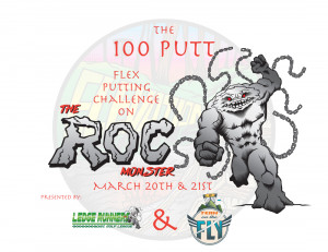 The Roc Monster 100 - Flex Putting Challenge graphic