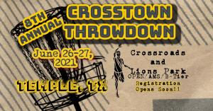 8th Annual Crosstown Throwdown graphic