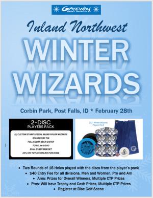 Inland Northwest Winter Wizards graphic