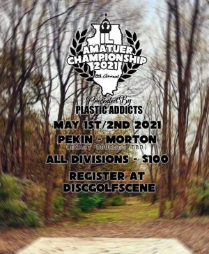 Plastic Addicts Presents: The 8th Annual Illinois Amateur Championships graphic