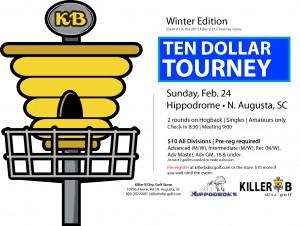 Killer B $10 Tourney - Winter Edition graphic