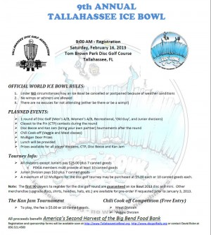 9th Annual Tallahassee Ice Bowl graphic