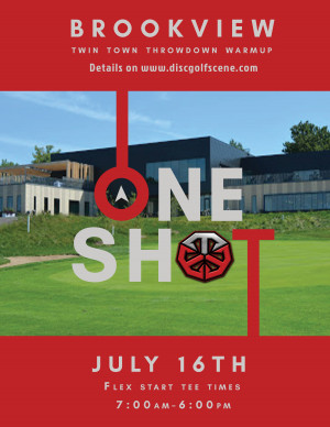 ONE SHOT @ Brookview graphic