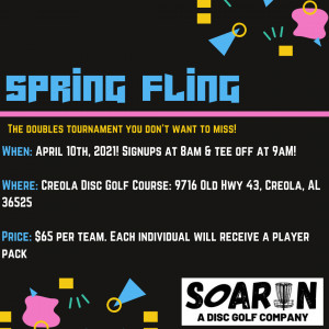 Soarin's Spring Fling Doubles Tournament graphic