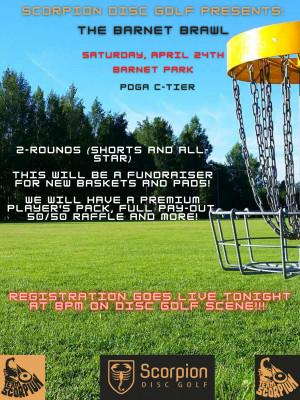 Scorpion Disc Golf presents : The Barnet Brawl graphic