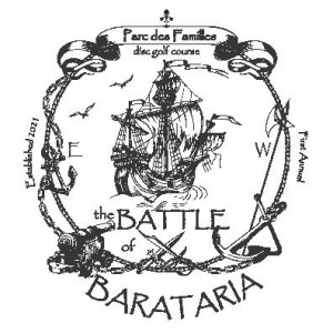 The Battle of Barataria graphic