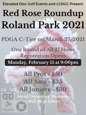 Red Rose Roundup - Roland Park 2021 graphic