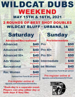 Wildcat Dubs 2021 Adv/Rec graphic