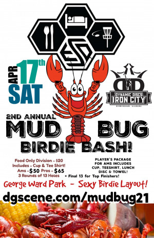 2nd Annual Mud Bug Birdie Bash graphic