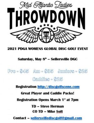 2021 Womens Global Event - Mid Atlantic Ladies Throwdown (Caddie Registration) graphic