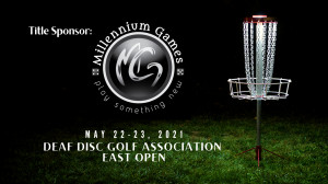 DDGA East Open 2021 Presented by Millennium Games graphic