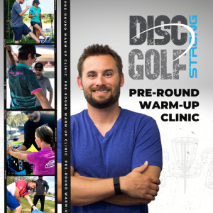 Disc Golf Strong - DDO Clinic graphic
