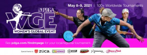 WGE - Pittsburgh Women's Global Event presented by Grip It and Rip It Disc Golf graphic