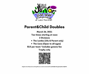 Parent/Child Doubles @ Lake Marshall graphic