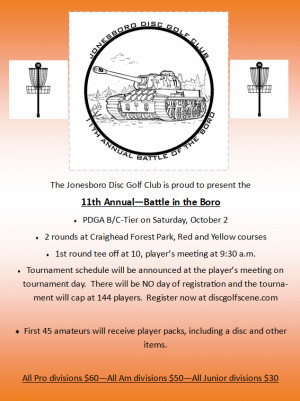11th Annual - Battle in the Boro graphic