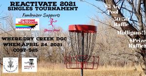 Reactivate 2021 Fundraising Tournament graphic