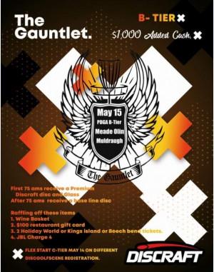 The Gauntlet graphic