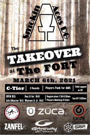 Smokin Aces presents: The Takeover at the Fort graphic