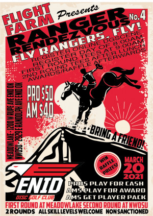 Ranger Rendezvous No. 4 presented by FLIGHT FARM graphic
