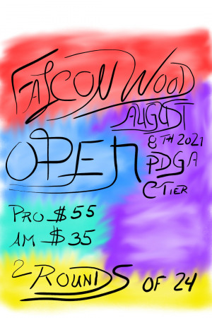 Falconwood Open graphic