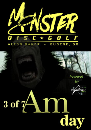 Amateur Monster Day 3 of 7 Powered by Prodigy. A fundraiser for the juniors of Team Monster graphic