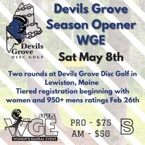 WGE - Devils Grove Season Opener graphic