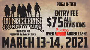 Lincoln County War-Presented by Dynamic Discs graphic