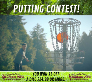 MV Putting Contest Open House graphic