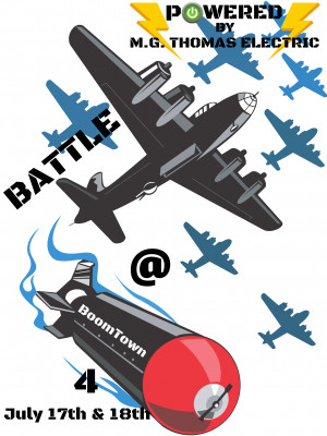 Battle At Boomtown 4 Powered by M.G. Thomas Electric graphic