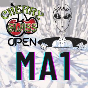 Cherry Glass Open MA1 graphic