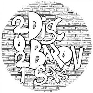 Disc Baron Series: Black Ace Dual Flex Start graphic