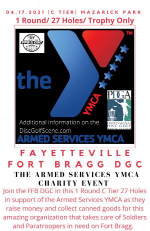 The Armed Services Charity Event graphic