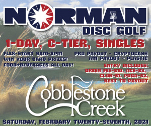 Norman Disc Golf @ Cobblestone Creek graphic