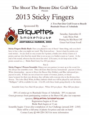 2013 Sticky Fingers graphic