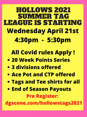 2021 Hollows Point Series League graphic