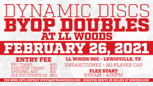 Dynamic Discs BYOP Doubles @ LL Woods graphic