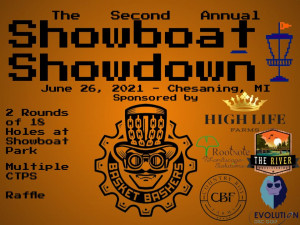 The Second Annual Showboat Showdown Sponsored by Basket Bashers graphic
