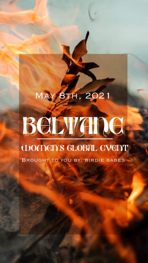 Beltane, Women's Global Event graphic