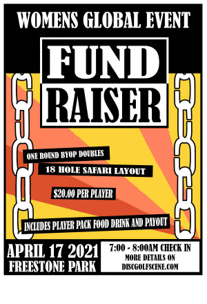 BYOP/Random Draw Doubles - Fundraiser for the Women's Global Event graphic