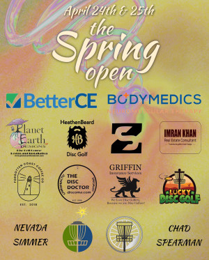 The Spring Open presented by BetterCE and BodyMedics graphic