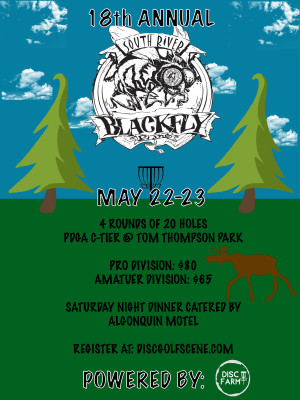 18th Annual Black Fly Fling Powered By Disc Farm graphic