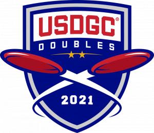 USDGC doubles qualifier presented by Scorpion Disc Golf at Farmville DGC graphic