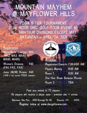 BRDGT - Mountain Mayhem at Mayflower Hills - All Ams Except MA1 graphic