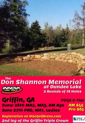Don Shannon Memorial (PRO, MA1, Ladies) graphic