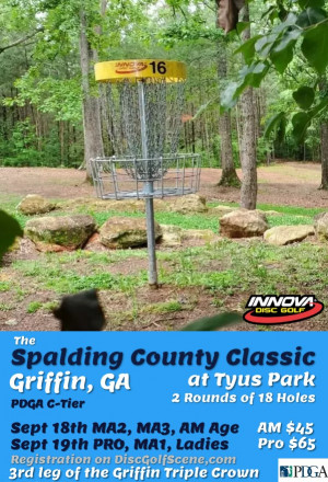 Spalding County Classic (PRO, MA1, Ladies) graphic