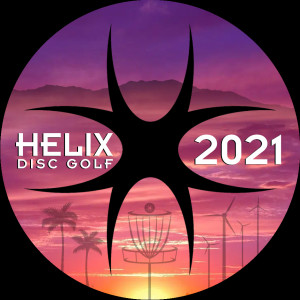 Helix Disc Golf May 2021 Monthly at Palm Royale CC graphic